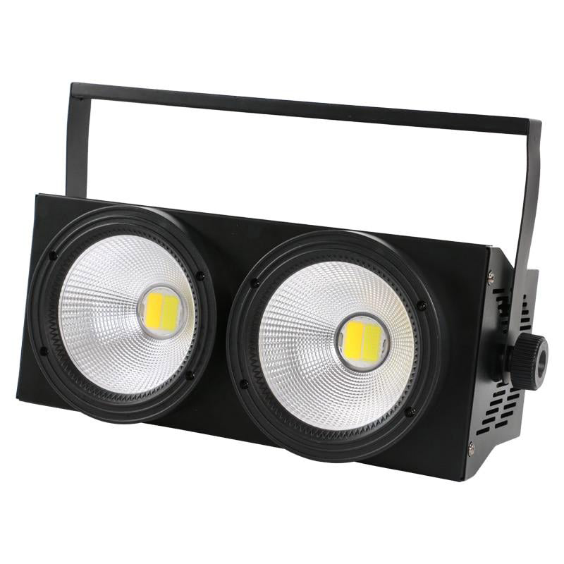 LED light cob audience blinder par can 2 eyes stage led for tv studio church party/sx-cob200