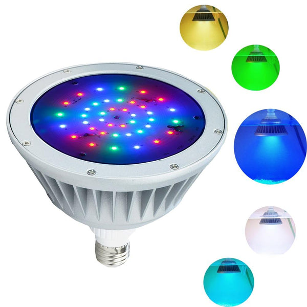 Waterproof LED pool light 12v 40w,rgb color changing ip65 waterproof replacement for pentair hayward fixture