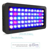 LED aquarium lamp dimmable 165w full spectrum for coral reef lighting fish tanks marine plants growth