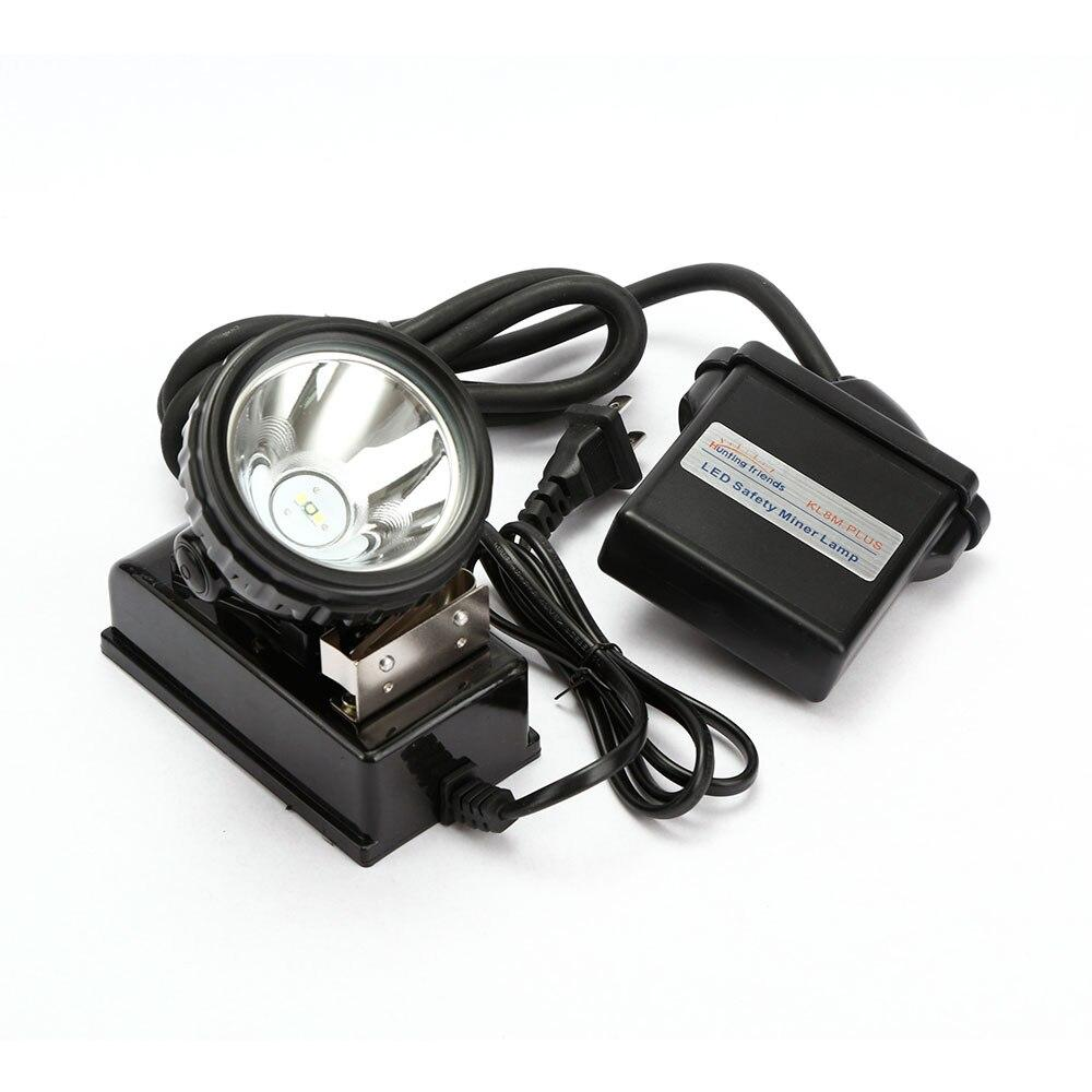 LED mining headlamp kl8m.plus waterproof light explosion proof cap lamp rechargeable flashlight for hat