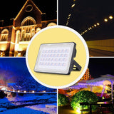 LED outdoor floodlights 2pcs 100 watts projector 100w 110v ip65 waterproof spotlights lighting
