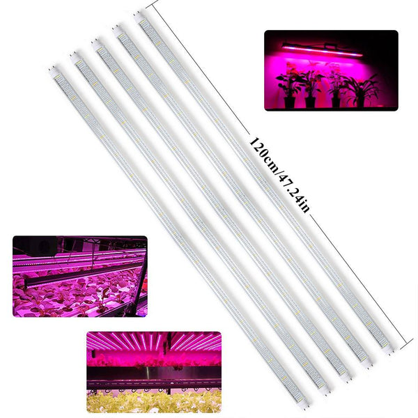 LED grow light 5pcs/pack 120cm tube t8 plants growing lamp ac85~265v for greenhouse garden hydroponics indoor plant