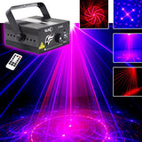 Laser light suny 40 rg patterns blue LED stage sound activated projector show for club bar dj disco home party(z40rg)