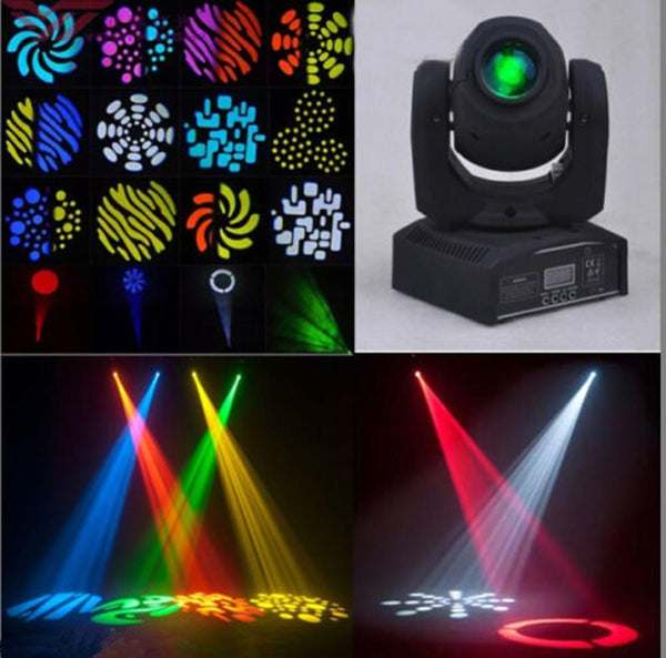 Wedding light 60w LED moving head rgbw christmas lights gobo projector