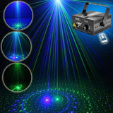 Laser light suny 20 gb patterns blue LED stage sound activated projector show for club bar dj disco home party(z20gb)