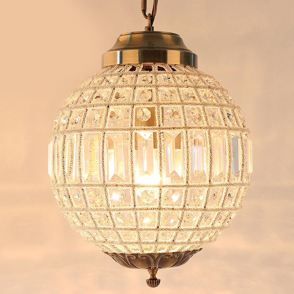Chandelier modern vintage royal empire ball style big LED crystal lamp light e27 for living room bedroom bathroom hotel