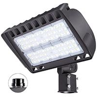 LED parking lot lights outdoor flood light 200w ultra bright commercial area street square pole shoe box
