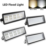 LED floodlight eco-friendly 800w 100w hight bright 110v ip65 waterproof spotlight refletor outdoor lighting wall lamp