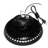 UFO high bay LED lighting 200w waterproof us plug dimmable warehouse lights ip65 shop light for factory garage gym