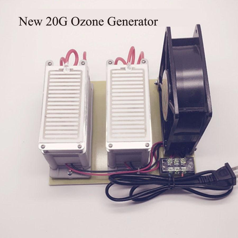 Ozone generator 20g disinfection machine purifier 110v