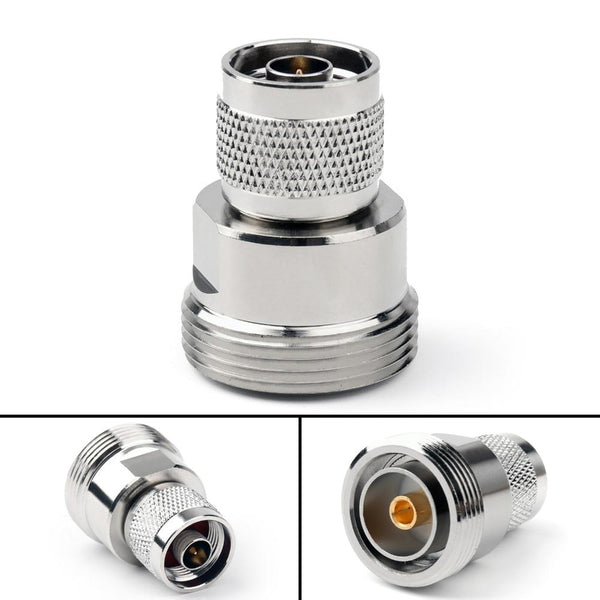 Female jack plug to n male rf connector areyourshop adapter 7/16 din straight m/f 10pcs 50ohm