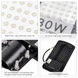Waterproof flood light 80w 110v LED road street outdoor garden wall lamp
