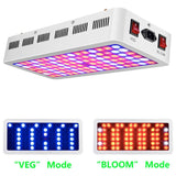 LED growing lamp with full spectrum lens 1000w tech for indoor plants growth veg bloom channel daisy chain