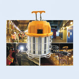 Portable led lantern waterproof 5 year warranty construction temporary working light outdoor