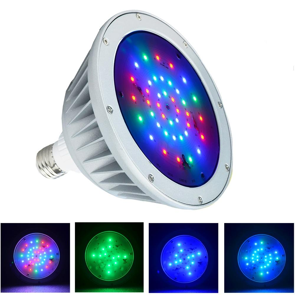 Waterproof LED pool light 12v 40w,rgb color changing ip65 replacement for pentair hayward fixture