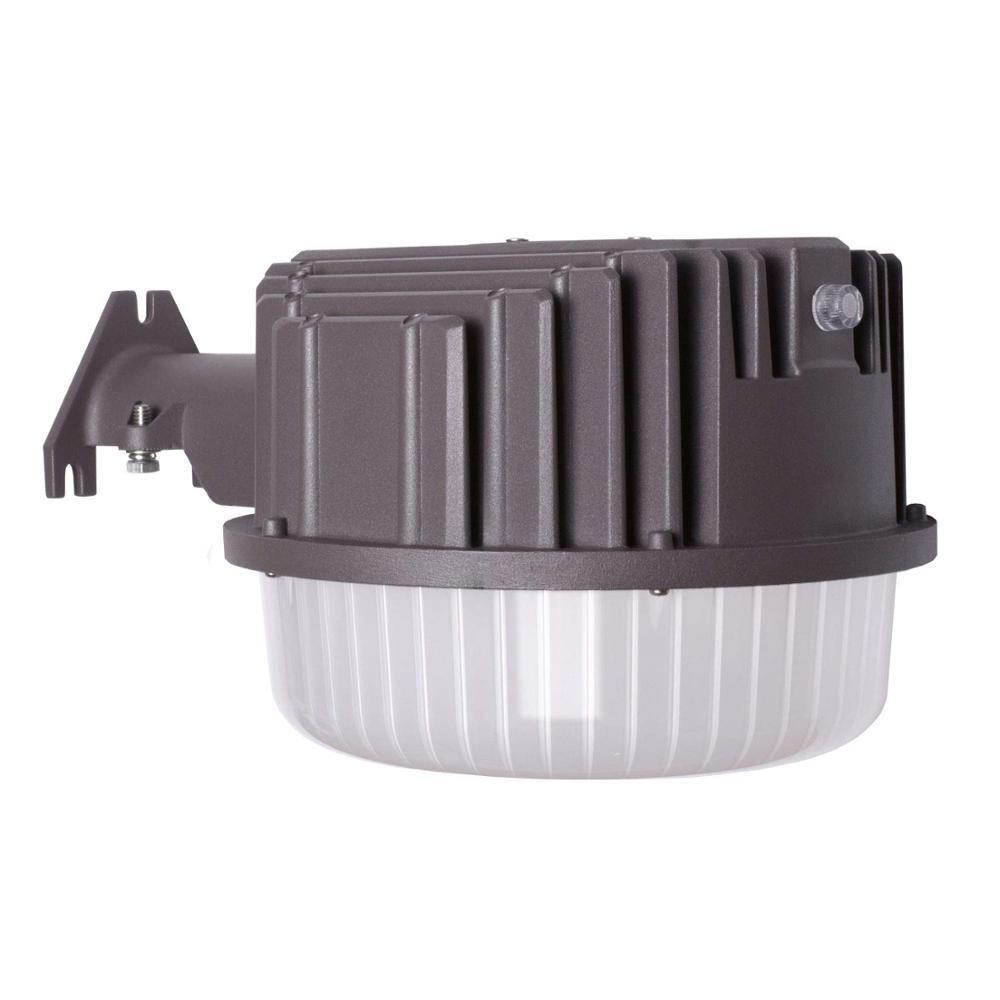 LED light dusk to dawn outdoor 80w barn photocell included street area flood for garden