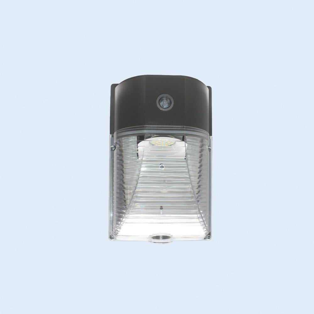 LED security light 4 pack ul&dlc listed 26w dusk to dawn wall with photocell sensor 5700k outdoor door lamp