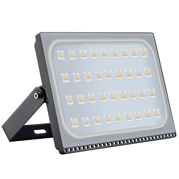 Ultraslim floodlight 200w led outdoor security lights 110v warm white waterproof ip65