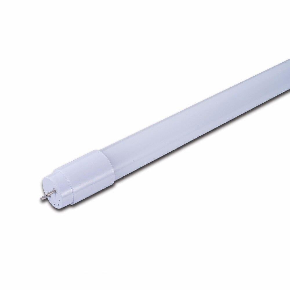 LED tube lamp replacement fluorescent lighting 10pcs/lot t8 1/3 tube light 4ft 18w g13 28lm/led ac100-277v