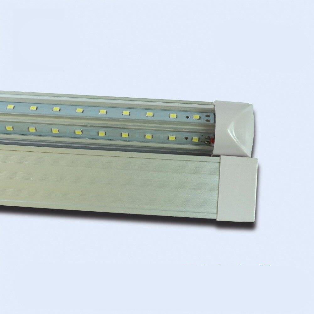 Integrated v-shaped tube light 10pcs/lot t8 4ft 24w 28lm/led replacement fluorescent lighting lamp ac85-265v