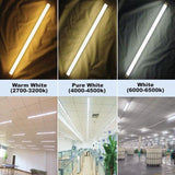 LED tube light aluminium 30 pack t8 1/3 4ft 20w bulbs lights ballast bypass with g13 base fluorescent lamp replacement