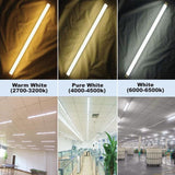 LED tube light v shaped etl 10 pack 4ft 5ft 6ft 8ft 24w-48w listed ballast bypass shop lighting to replace fluorescent bulb