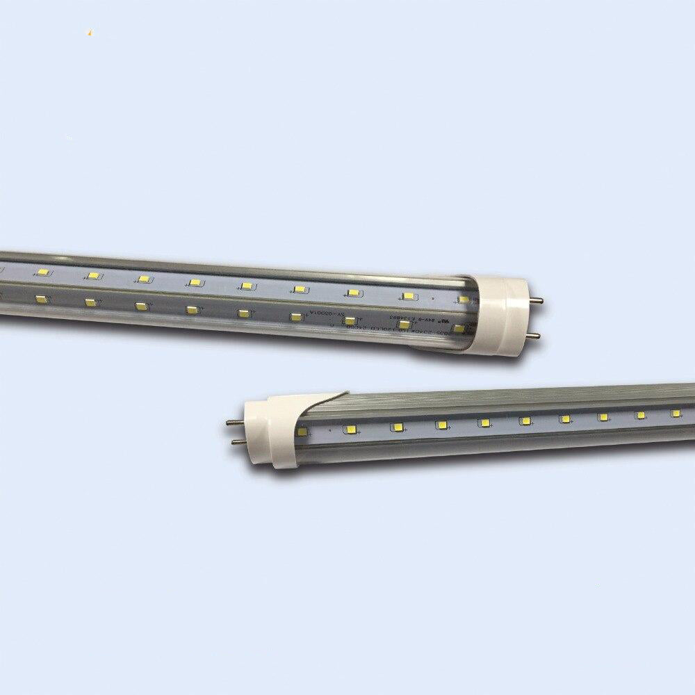 LED tube light v shaped 6pcs/lot t8 6ft 60w g13/fa8/r17d 28lm/led replacement fluorescent lighting lamp