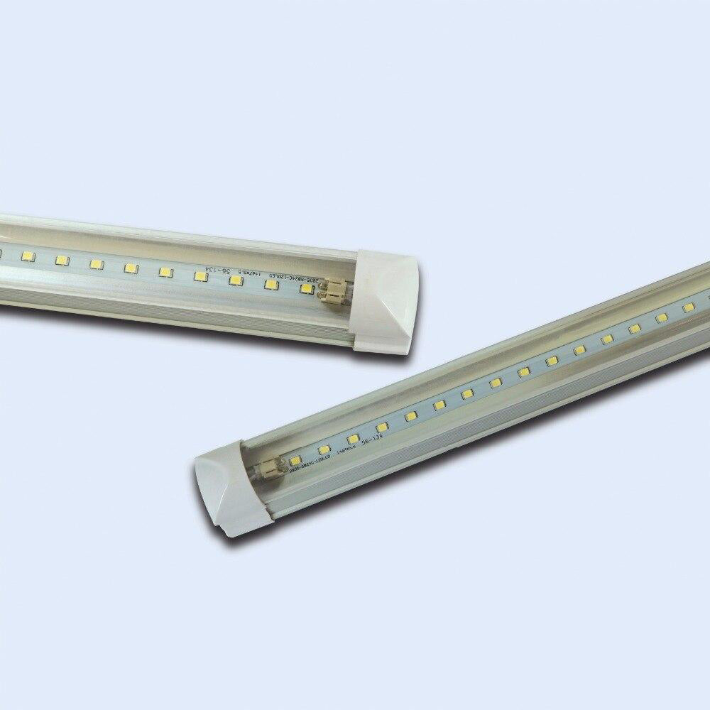 LED tube light integrated 6pcs/lot t8 4ft 24w 28lm/led replacement fluorescent lighting lamp