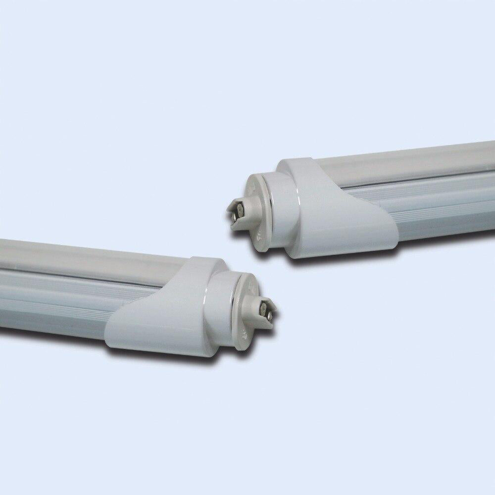 LED tube light replacement fluorescent lighting lamp 10pcs/lot etl list t8 8ft 48w g13/fa8/r17d 28lm/led