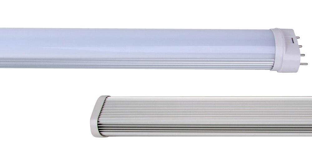 LED tube light 10pcs/lot 18w 96 2g11 epistar 28lm high brightness tube lamp ac85-265v lighting