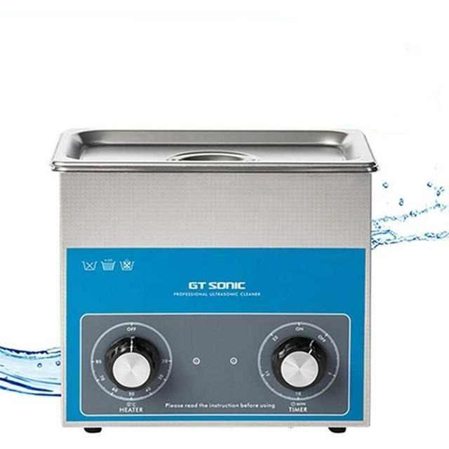 Ultrasonic cleaner 3l timer temperature setting bath electronic surgical parts machine