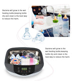 Ultrasonic cleaner with heated large capacity double power 120w touch key with degas function for jewelry eyeglass watch