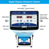 Ultrasonic cleaner 3l 3.2l digital stainless steel bath for watch jewelry dental with heater