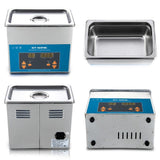 Ultrasonic cleaner 3l digital bath electronic components jewelry glasses circuit board machine