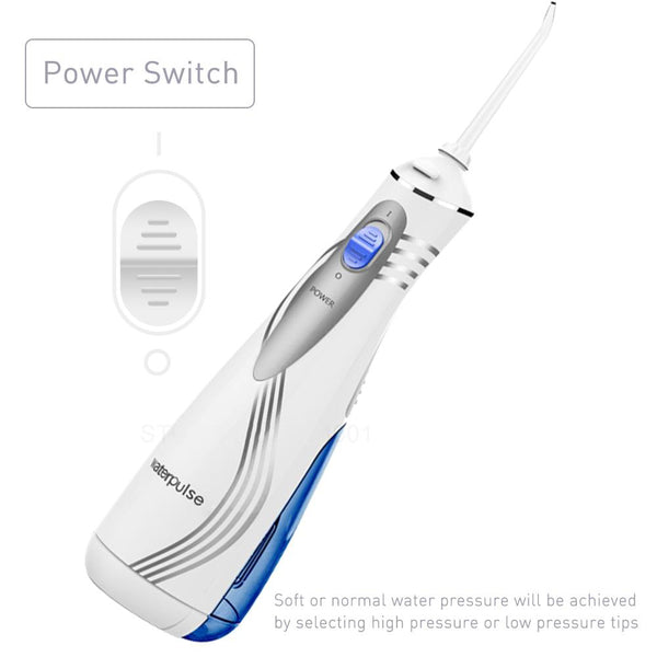 Oral irrigator V700 v400 9pcs jet tips water power flosser 1000ml capacity traveler portable dental