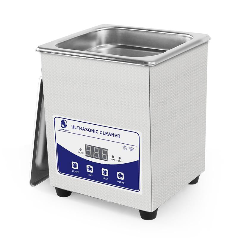 Ultrasonic bath cleaner digital touch with degas 2l 60w manicure watches glasses coins nail tool part timer