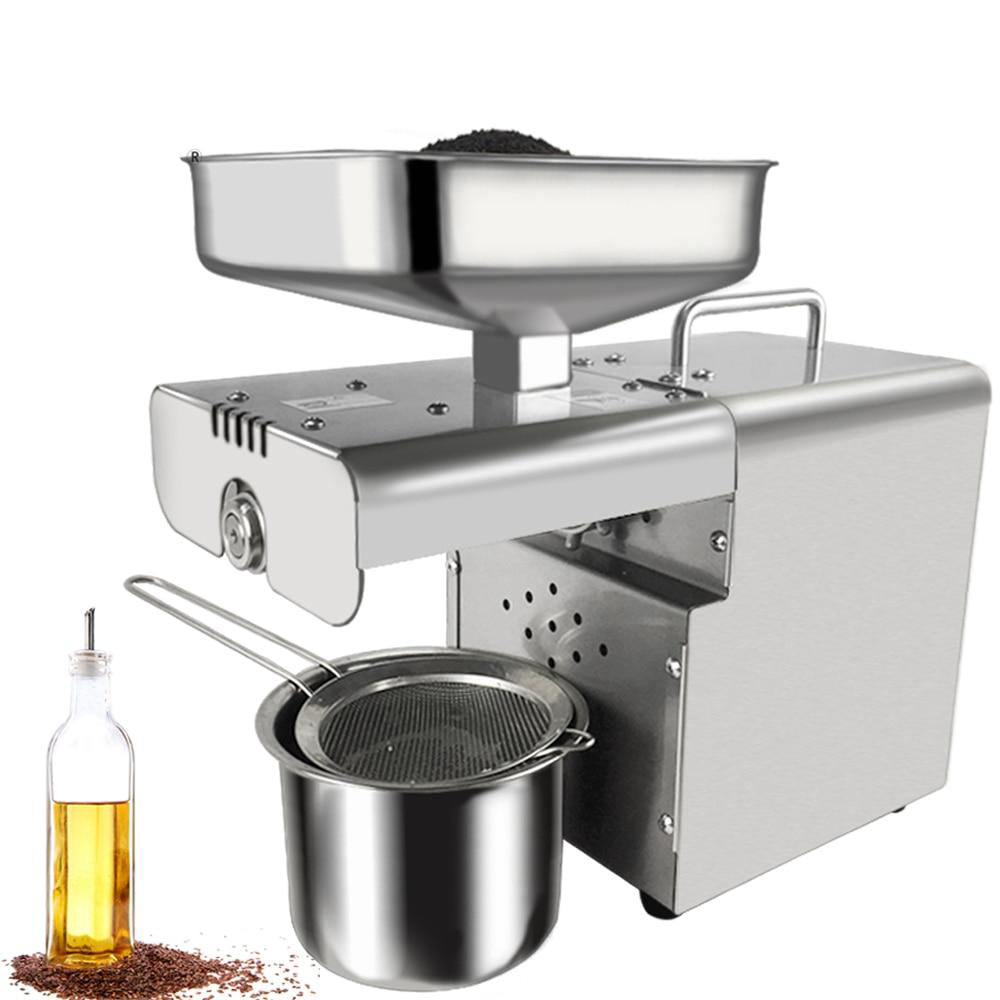 Oil press machine small home cold press for peanut coconut automatic stainless steel ce approved home use