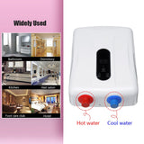 Instant water heater electric 5500w 110v/220v tankless boiler bathroom shower set