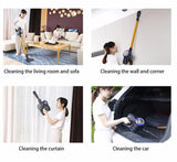Vacuum cleaner d18 2 in 1 handheld cordless strong suction dust collector wireless portable aspirator home