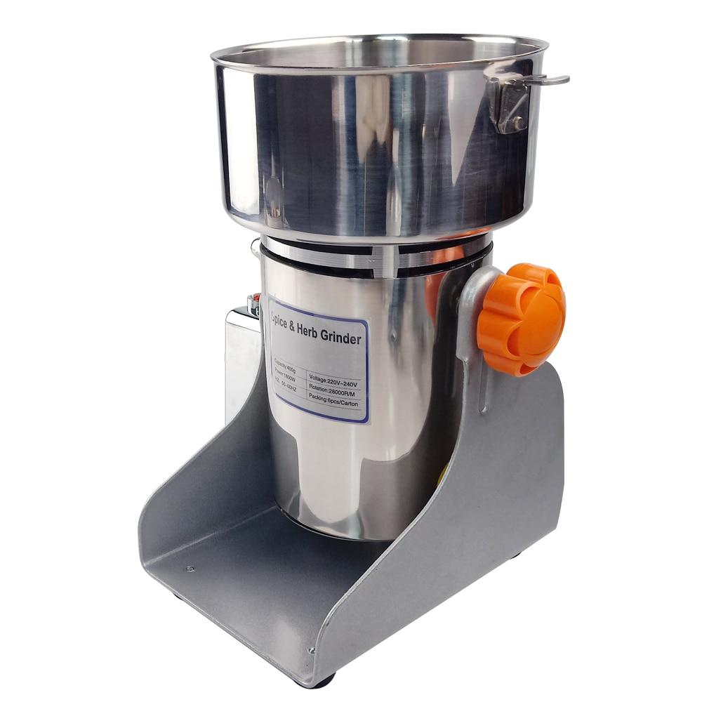 Electric grinder 1500-2500g 3000w mill stainless steel pulverizer machine coffee bean nut spice swing type powder crusher