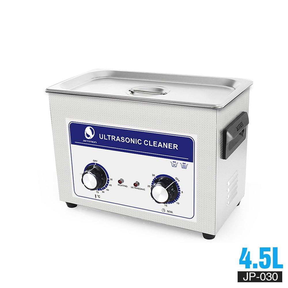 Ultrasonic cleaning mechanical knob cleaner 4l 4.5l 180w 110/220v transducer heater timer for auto parts washer