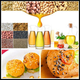Oil press automatic stainless steel 220v/110v machine cold&hot oil for sesame/melon seeds/rapeseed/flax