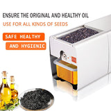 Vegetable press high oil yield machine convenient fast extracting soybean multi-functional processing