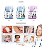 Dental flosser  v300 professional oral irrigation 800ml hygiene water floss for family daily care