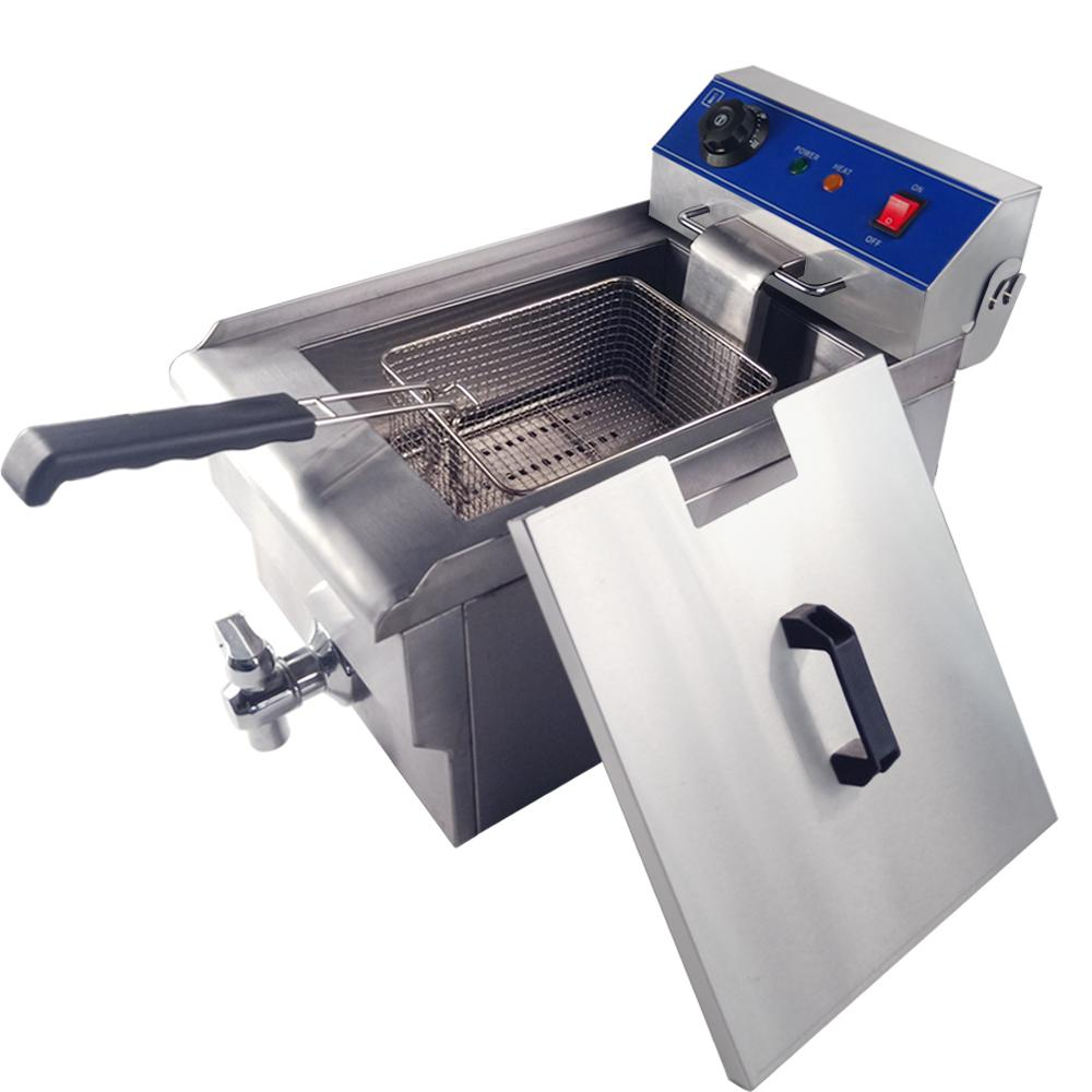 Multifunctional frying machine grill fried chicken dough commercial use electric fryer furnace for hotel industrial deep