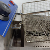 Deep fryer multifunctional commercial fryer with thermostat control kitchen equipment