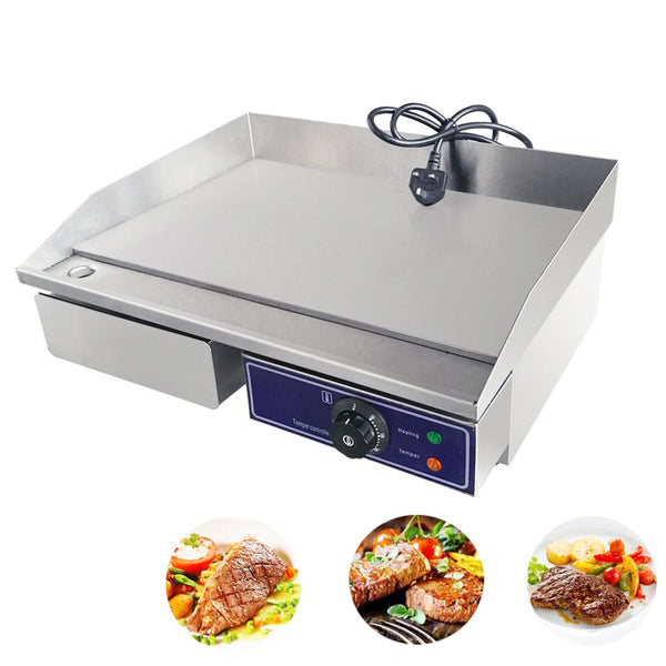 Electric grill machine bbq dog kebab pan restaurant equipment