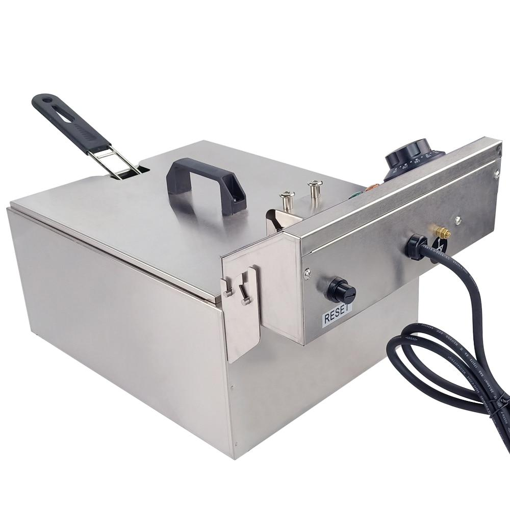 Multifunctional electric fryer furnace smokeless deep mini household frying machine fried dough sticks chicken