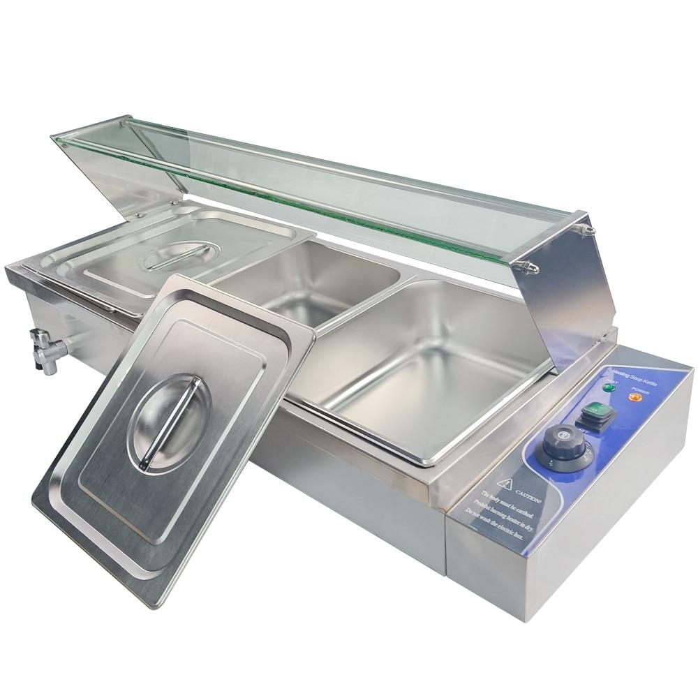 Food warmer 1500 watt commercial kitchen equipment electric countertop