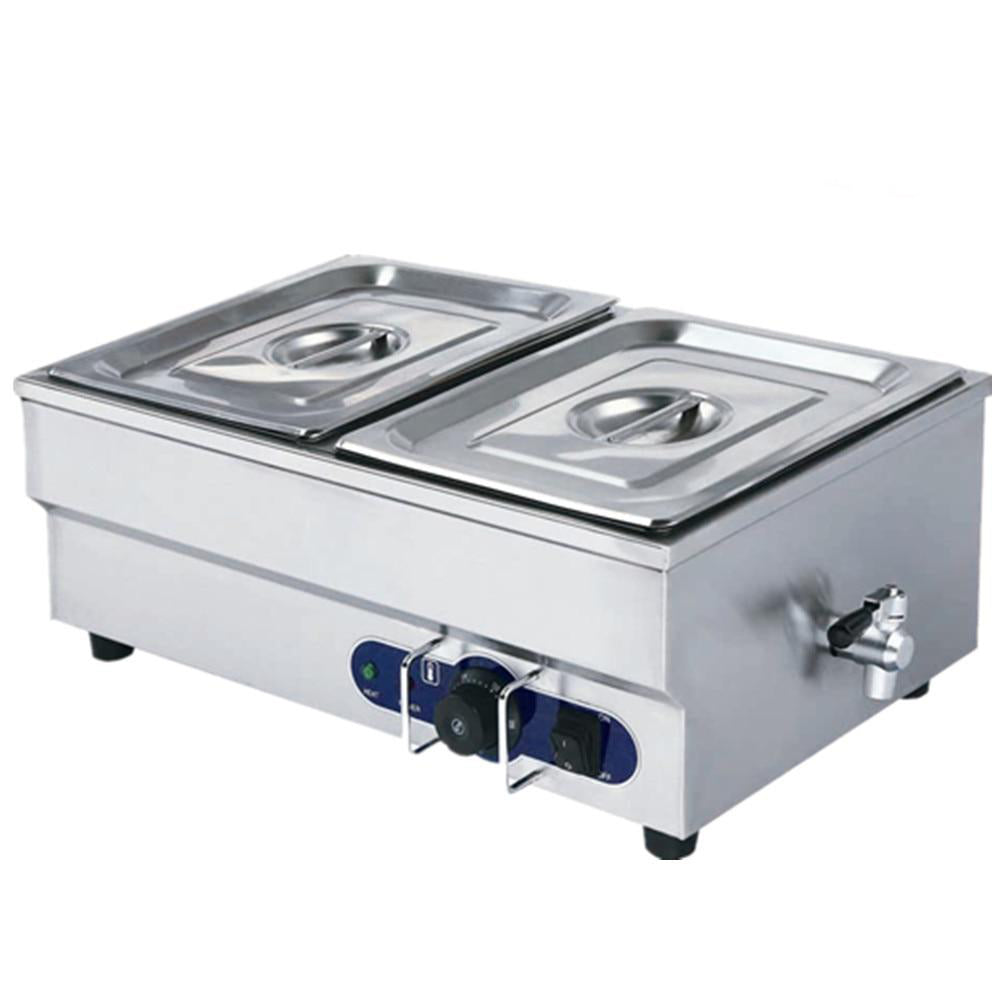 Commercial buffet warmer food stainless steel soup stock pots for kitchen catering equipment machine